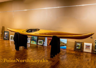POINT NORTH KAYAKS custom built kayaks-Jeff Wier