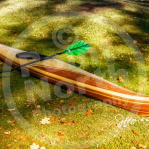 Point North Photography-HAND BUILT WOODEN KAYAK