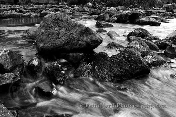 Point North Photography-Jeff Wier-ROCK IN THE RIVER