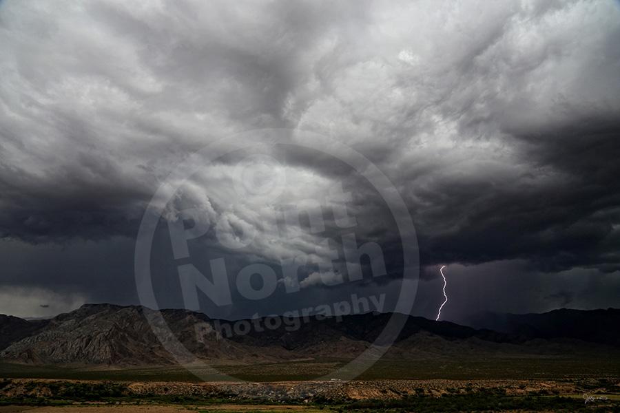 Lightning Storm In Arizona