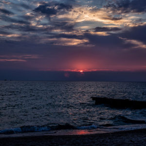 Point North Photography-POINT BETSIE SUNSET