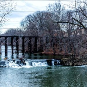 Point North Photography-TRAIN TRESTLE