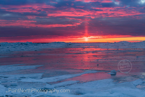 Point North Photography-Sunrise on Ice